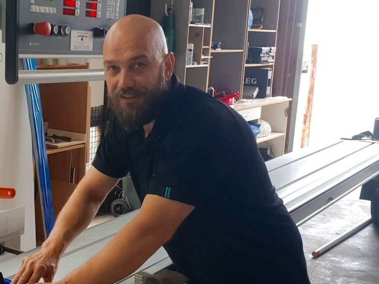 Five Minutes with our Cabinet Maker